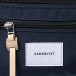 Сумка на пояс Sandqvist Aste 3L Navy/Natural Leather фото- 6