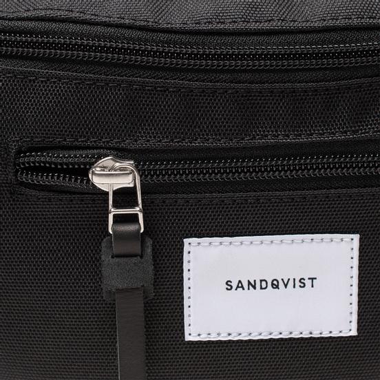 Сумка на пояс Sandqvist Aste 3L Black/Black Leather