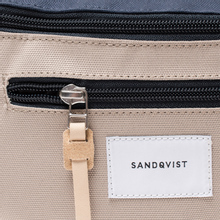 Сумка на пояс Sandqvist Aste 3L Multi Beige/Navy/Natural Leather фото- 4