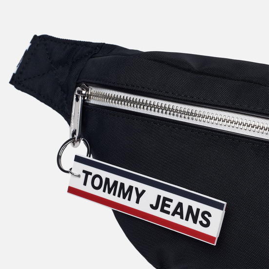 Сумка на пояс Tommy Jeans Bumbag Nylon Logo Tape Black