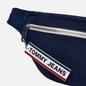 Сумка на пояс Tommy Jeans Bumbag Nylon Logo Tape Black Iris фото - 2