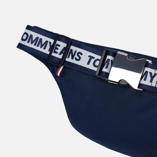 Сумка на пояс Tommy Jeans Bumbag Nylon Logo Tape Black Iris