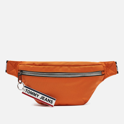 Сумка на пояс Tommy Jeans Bumbag Nylon Logo Tape Orange Peel