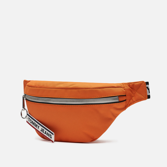 Сумка на пояс Tommy Jeans Bumbag Nylon Logo Tape Orange Peel