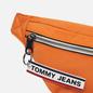 Сумка на пояс Tommy Jeans Bumbag Nylon Logo Tape Orange Peel фото - 2