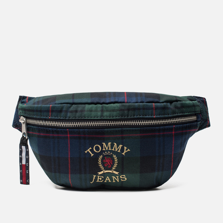 Сумка на пояс Tommy Jeans Crest Heritage Plaid Check