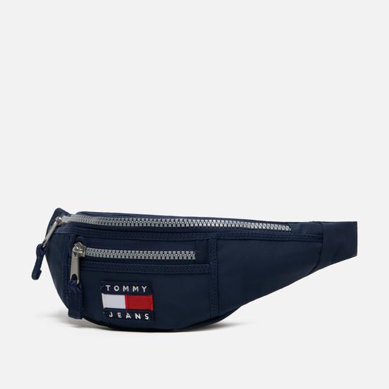 Сумка на пояс Tommy Jeans Heritage Bumbag Nylon Black Iris