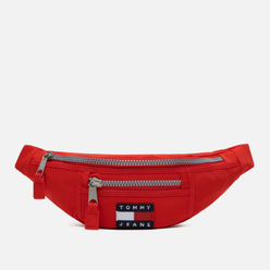 Сумка на пояс Tommy Jeans Heritage Bumbag Nylon Racing Red