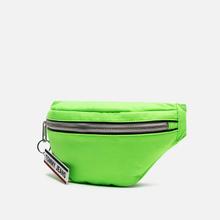 Сумка на пояс Tommy Jeans Logo Tape Bumbag Crinkle Green Gecko фото- 1