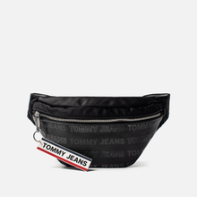 Сумка на пояс Tommy Jeans Logo Tape Holo Black фото- 0