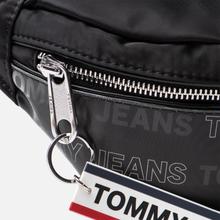 Сумка на пояс Tommy Jeans Logo Tape Holo Black фото- 2