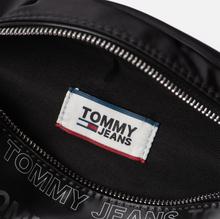 Сумка на пояс Tommy Jeans Logo Tape Holo Black фото- 6