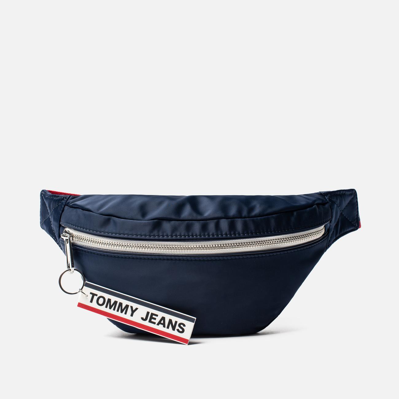 Сумка на пояс Tommy Jeans Logo Tape Nylon Black Iris