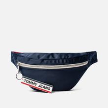 Сумка на пояс Tommy Jeans Logo Tape Nylon Black Iris фото- 0