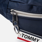 Сумка на пояс Tommy Jeans Logo Tape Nylon Black Iris фото - 5