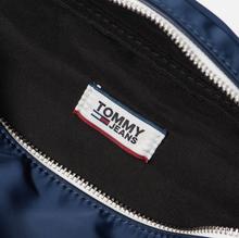 Сумка на пояс Tommy Jeans Logo Tape Nylon Black Iris фото- 6