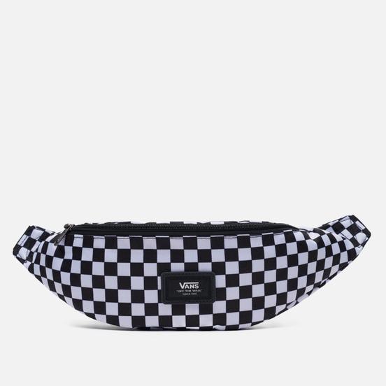 Сумка на пояс Vans Ward Cross Body Mini Check Black/White