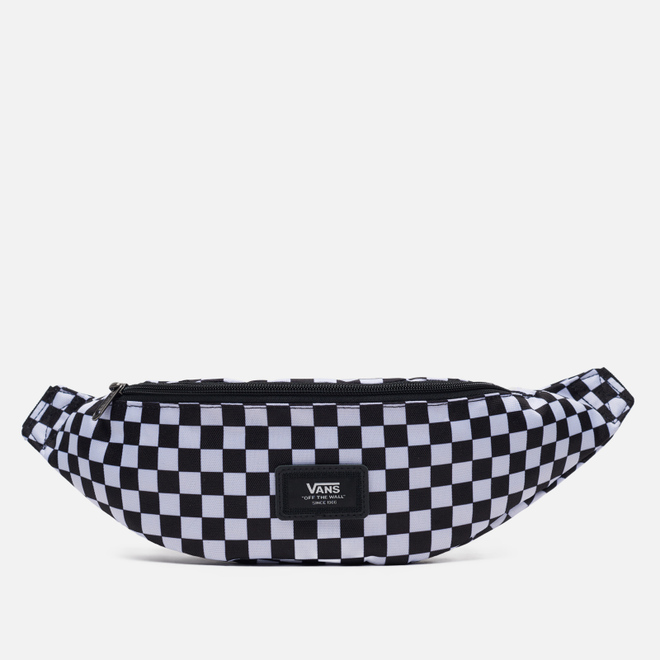 Сумка на пояс Vans Ward Cross Body Mini Check Black/White