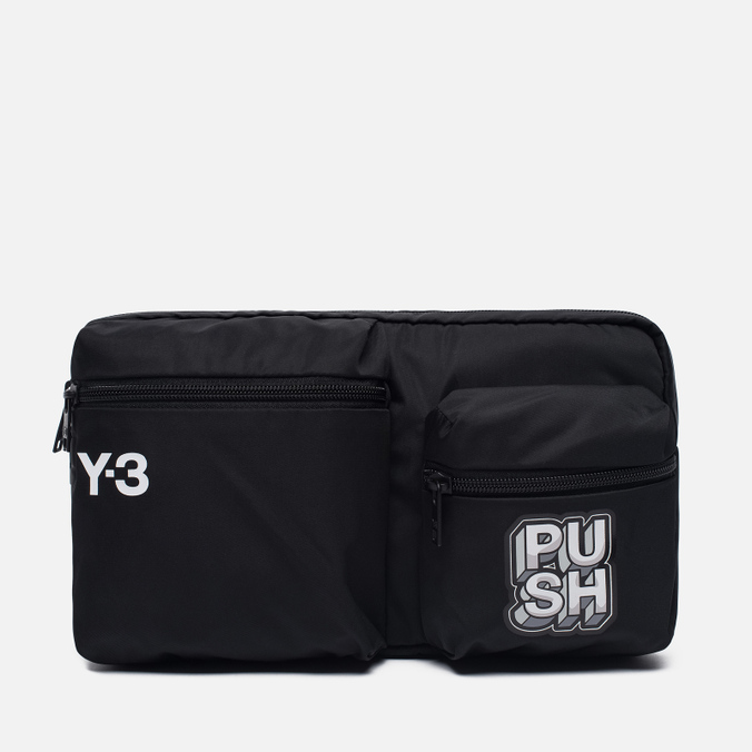 Сумка на пояс Y-3 Season Fanny Black