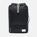 Рюкзак Nanamica 3 Way Briefcase Black/Black фото- 0