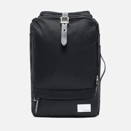 Nanamica 3 Way Briefcase Backpack Black/Black