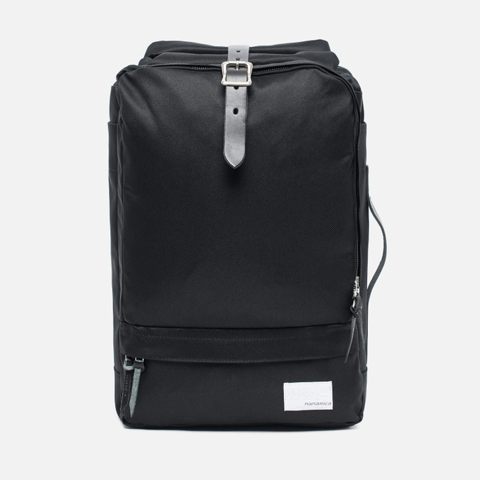 Рюкзак Nanamica 3 Way Briefcase Black/Black