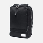 Рюкзак Nanamica 3 Way Briefcase Black/Black фото- 1