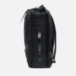 Рюкзак Nanamica 3 Way Briefcase Black/Black фото- 2