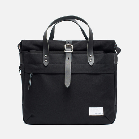Сумка Nanamica Briefcase Black/Black