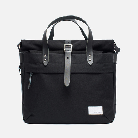 Nanamica Briefcase Bag Black/Black