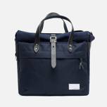 Сумка Nanamica Briefcase Navy/Black фото- 0