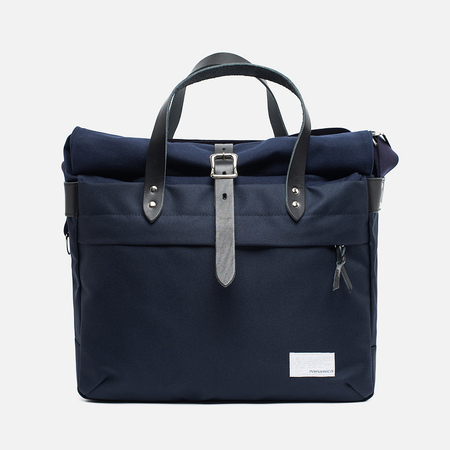 Nanamica Briefcase Bag Navy/Black