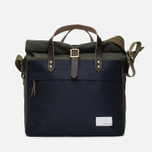 Сумка Nanamica Cordura Briefcase Khaki/Navy фото- 0