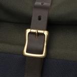 Сумка Nanamica Cordura Briefcase Khaki/Navy фото- 6