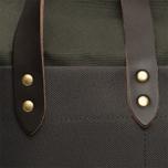 Сумка Nanamica Cordura Briefcase Khaki/Navy фото- 10