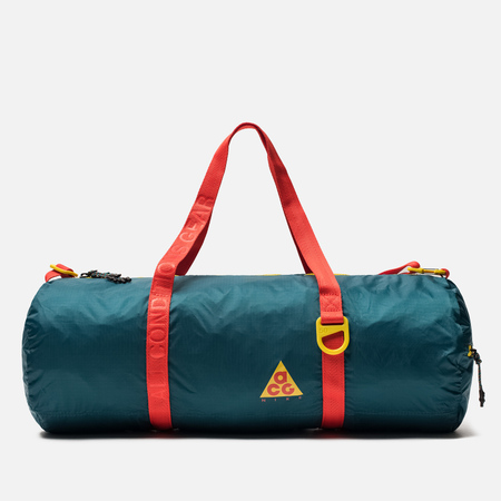 Сумка Nike ACG Packable Duffel Geode Teal/Geode Teal/Habanero Red