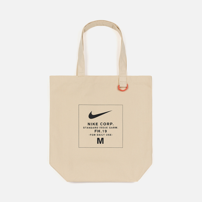 Сумка Nike Heritage Tote GFX Natural/Black/White