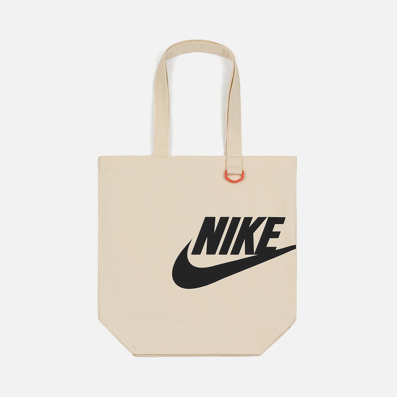 Сумка Nike Heritage Tote GFX Natural/Team Orange/White