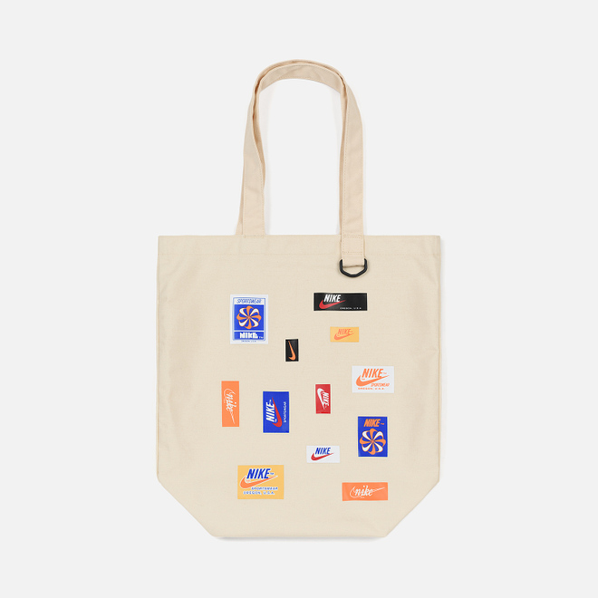 Сумка Nike Heritage Tote JDIY Natural/Natural/Safety Orange