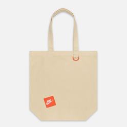 Сумка Nike Heritage Tote Natural/Team Orange/White