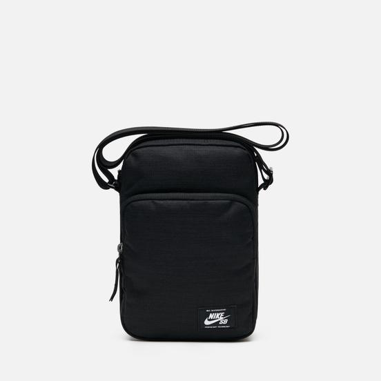 Сумка Nike SB Heritage Smit Black/Black/White