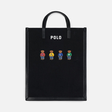Сумка Polo Ralph Lauren Bear Canvas Large Black фото- 0