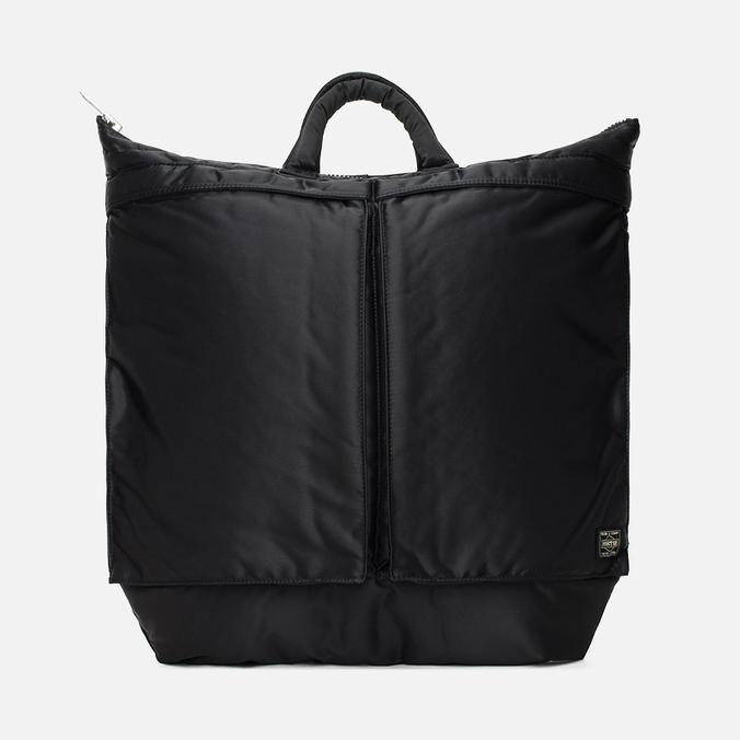 Porter-Yoshida & Co Tanker 2 Way Helmet Bag Black