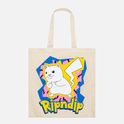 Сумка RIPNDIP Catch Em All Tote Natural