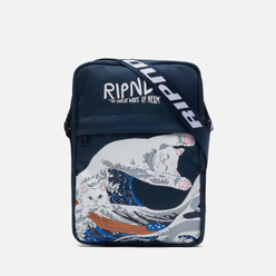 Сумка RIPNDIP Great Wave Shoulder Navy
