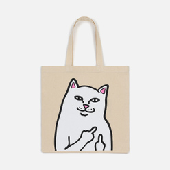 Сумка RIPNDIP Lord Nermal Tote Canvas Natural