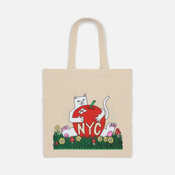 Сумка RIPNDIP New York Tote Canvas Natural