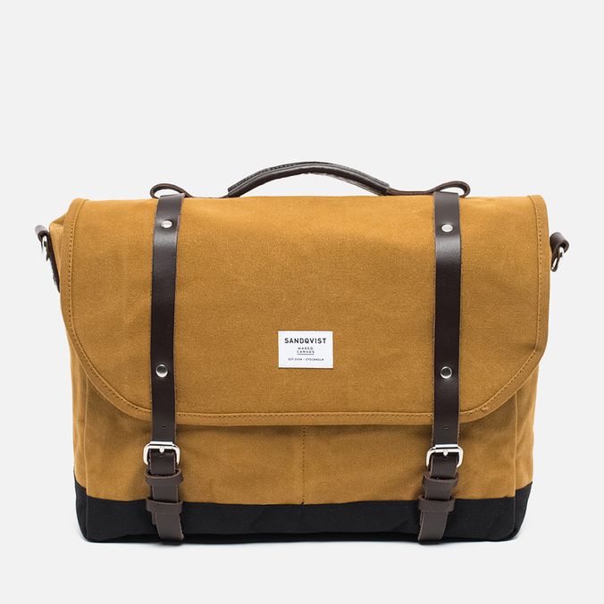 Sandqvist Izzy Waxed Bag Khaki