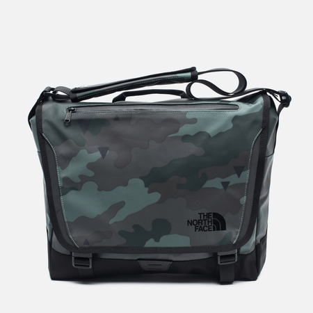 Сумка The North Face Base Camp Messenger M Camo Print/Black