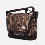 The North Face Base Camp Messenger Bag S Brunette Brown Camo photo- 1